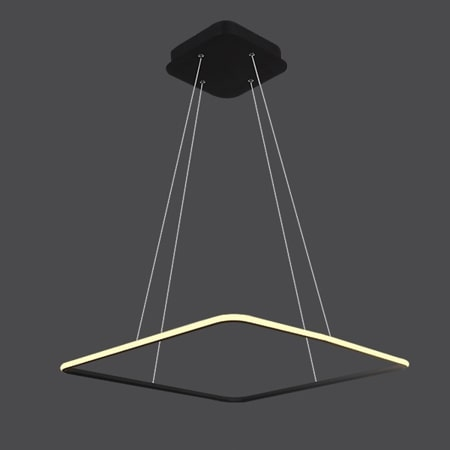 lampa wisząca kwadrat LED