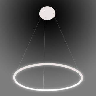 Biała lampa wisząca Shape - okrąg, LED, 3000K