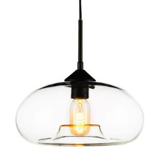 Szklana lampa wisząca London Loft - transparentna
