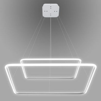 Designerska lampa wisząca Shape - ledowe kwadraty
