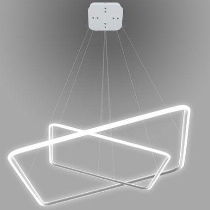 biała lampa wisząca led moduł