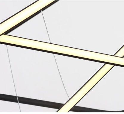 ledowa lampa wisząca w stylu nowoczesnym