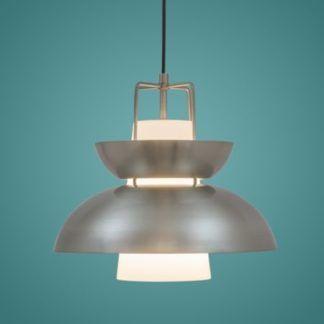 Oryginalna lampa wisząca Scandinavian - srebrna
