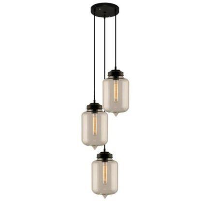 lampa wisząca nad stół szklane klosze