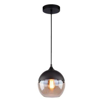 lampa wisząca nowoczesna szklany klosz