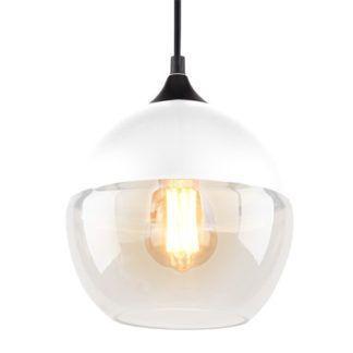 Szklana lampa wisząca Manhattan - kula