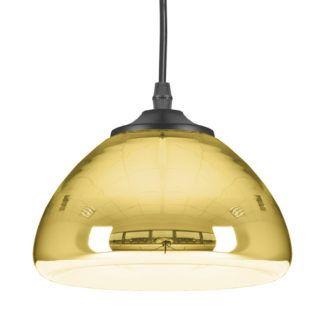 Lampa wisząca Victory Glow - mała, złota