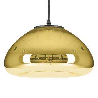 Dekoracyjna lampa ze szkła Victory Glow - złota