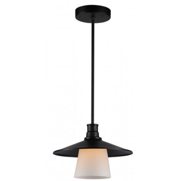 industrialna lampa wisząca czarny klosz