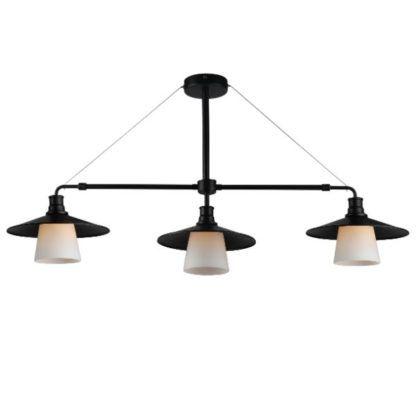 industrialna lampa wisząca do jadalni