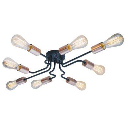 industrialna lampa sufitowa designerska