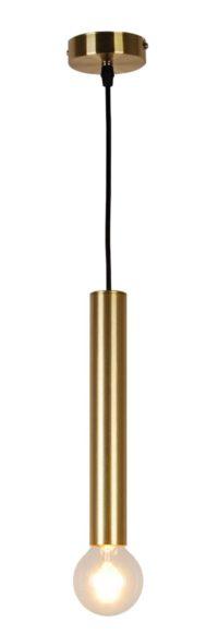 lampa złota na żarówkę edisona
