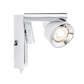 Nowoczesny kinkiet Turn - regulowany reflektor
