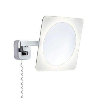 Podświetlane lustro Bela - kinkiet, chrom