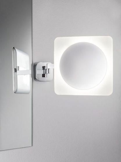 lustro makijażowe LED