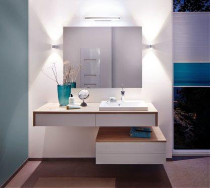 oświetlenie lustra łazienkowego aranżacja
