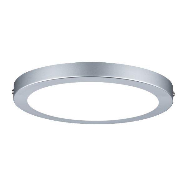 srebrny plafon LED
