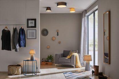 lampy z abażurem salon