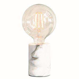 Lampa stołowa Otto - marmurowa, nowoczesna