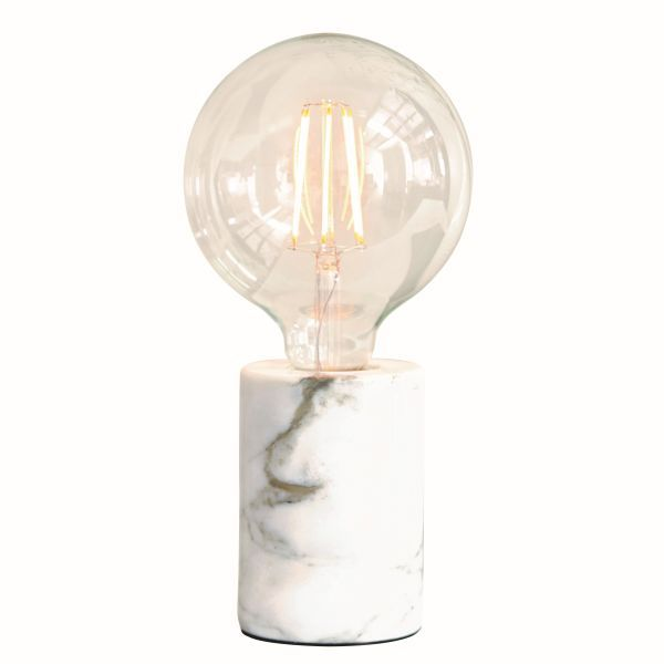 lampa stołowa z marmuru