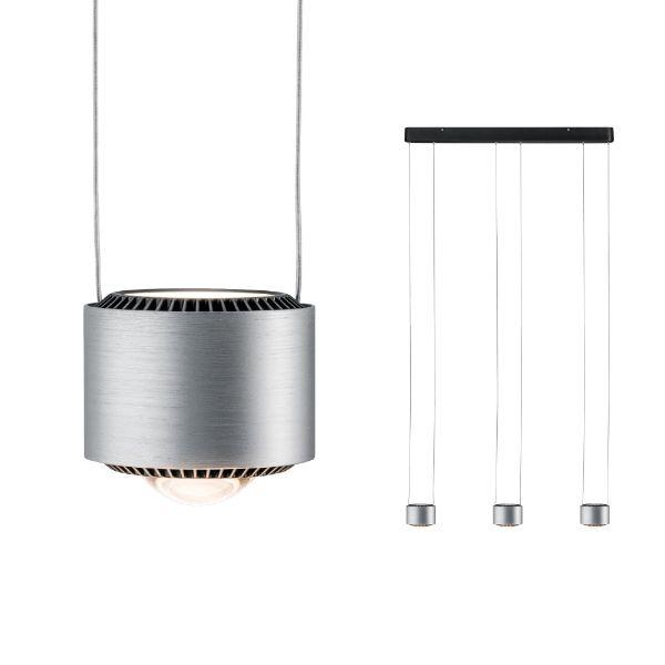 potrójna lampa wisząca LED