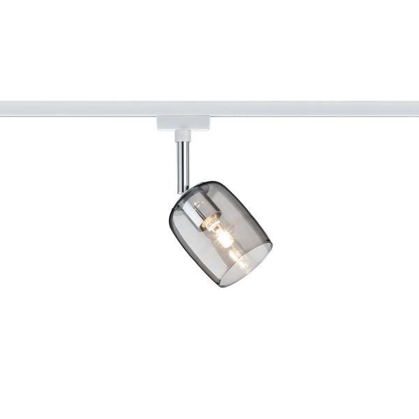 szary szklany reflektor system szynowy