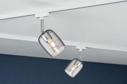 szklane reflektorki do systemu szynowego