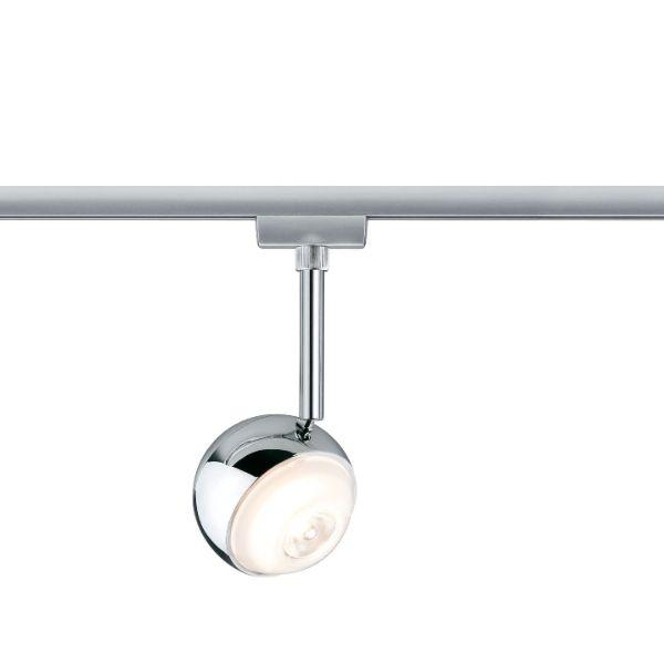 nowoczesny reflektorek do systemu szynowego