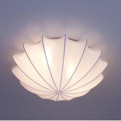 plafon w kształcie muszli