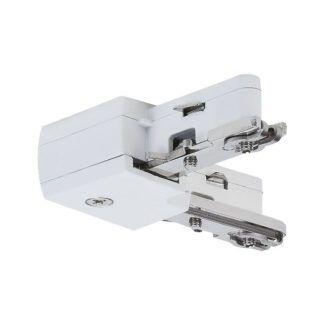Złącze URail - L-connector, białe, system szynowy