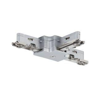 Złącze URail - T-connector, chrom, mat,  system szynowy