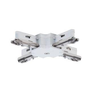Złącze URail - X-connector, białe,  system szynowy