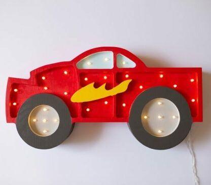 lampka samochodzik czerwona