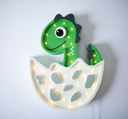 lampa w kształcie dinozaura