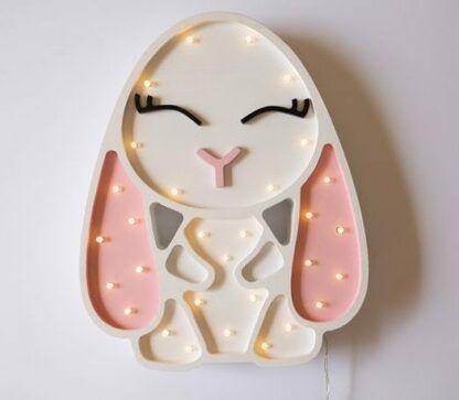 lampa w kształcie króliczka dla dziecka