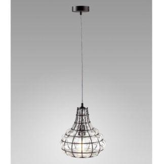 Oryginalna lampa wisząca Clark - szklana