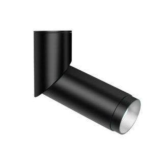 Lampa sufitowa Bland - czarna tuba, regulowana, LED