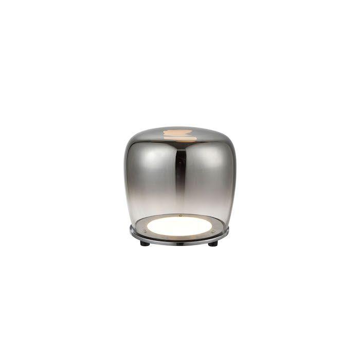 lampa ze szkła przydymionego