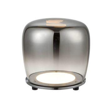 Lampa stojąca ze szkła Berloz duża - LED