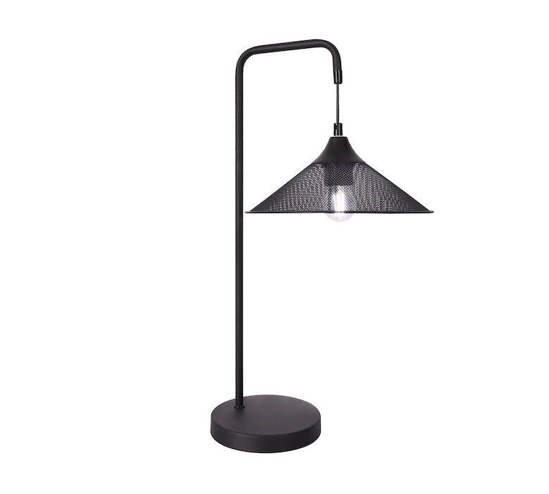 druciana lampa stołowa
