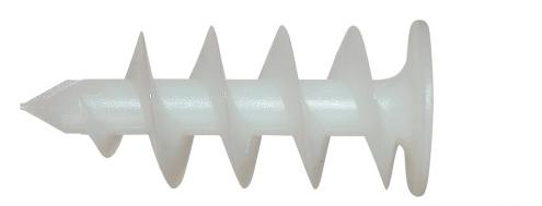 kołek do mocowania lampy w styropianie elewacji