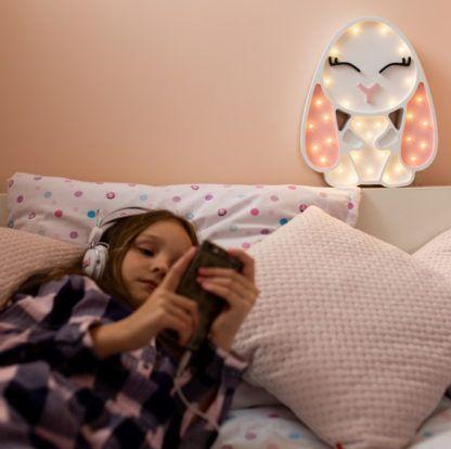 lampa w kształcie zajączka