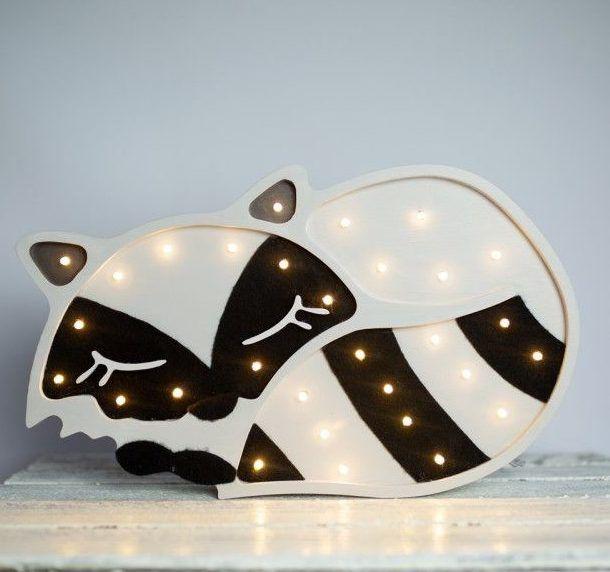 lampka dziecięca w kształcie szopa