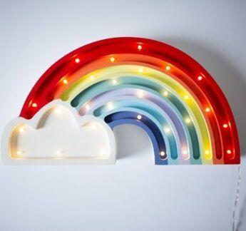 Lampka dziecięca Tęcza do pokoju dziecka - LED