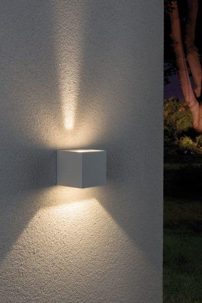 kinkiet zewnętrzny dwa kierunki światła