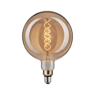 Duża, okrągła żarówka BigGlobe - Led, ciepłe światło
