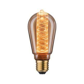 Dekoracyjna żarówka Inner Glow - vintage, ciepłe światło