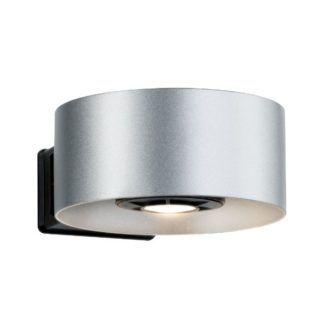 Kinkiet elewacyjny Cone - IP44, srebrny