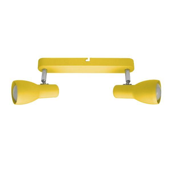 żółta młodzieżowa lampa sufitowa