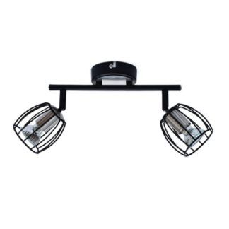 Podwójna lampa sufitowa Zonk - druciane klosze, nowoczesna